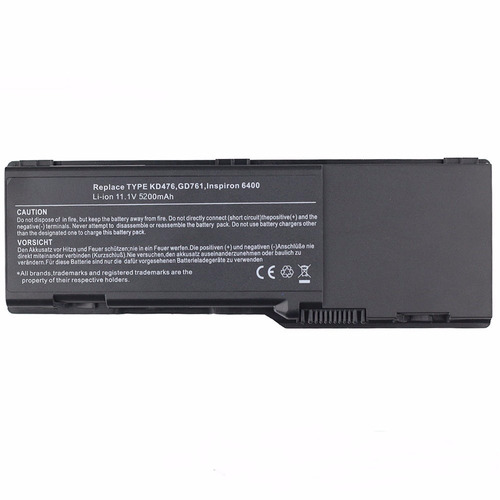 bateria 5200mah para dell inspiron kd476 312-0428 ud267