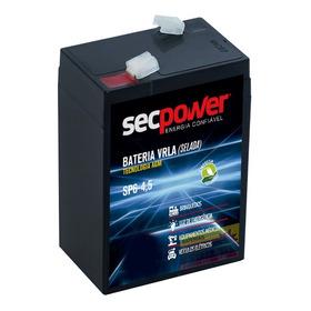 Bateria 6v 4ah Bandeirantes Moto Elétrica Carro Brinquedo