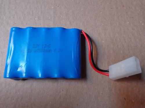 bateria 6v 500mah carro tempestade da candide produto novo