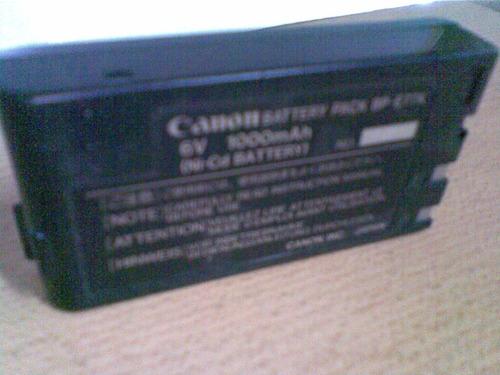 bateria 6v. - canon - .p/filmadora