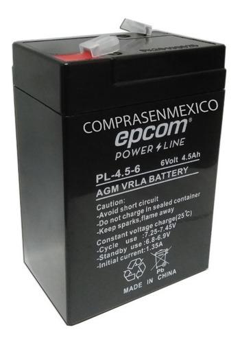 bateria 6v para básculas digitales torrey y compatibles