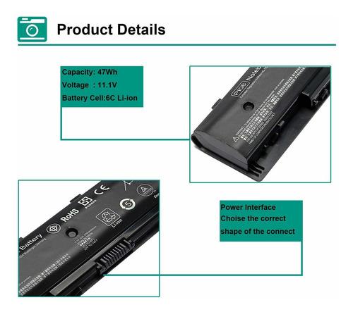bateria 710416-001 para hp 710417-001 pi06 hstnn-lb4n pavilion 15 17 17-e016dx 17-e037cl 17-e049wm 17-e079nr 17-e098nr 1