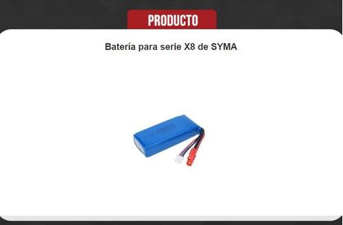 batería 7.4v 2000mah para syma x8 x8c x8h y otros