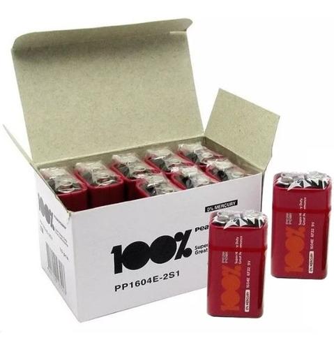 bateria 9v para sensores caixa com 10 unidades