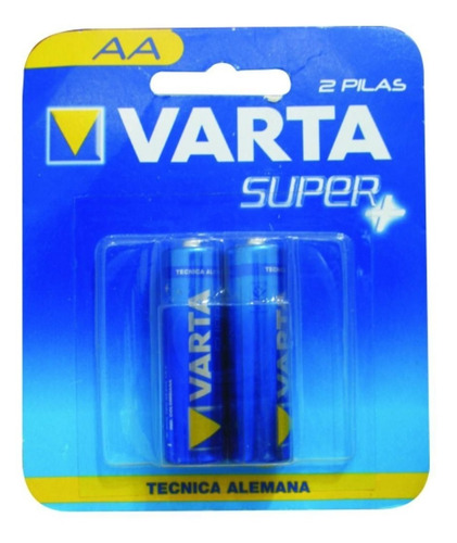 bateria aa corriente blister x 2 varta
