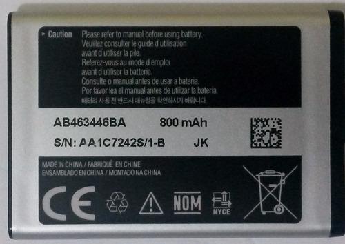 bateria ab463446ba gt-m2310 m2520 m2710 gt-e1110 e1117 e1182