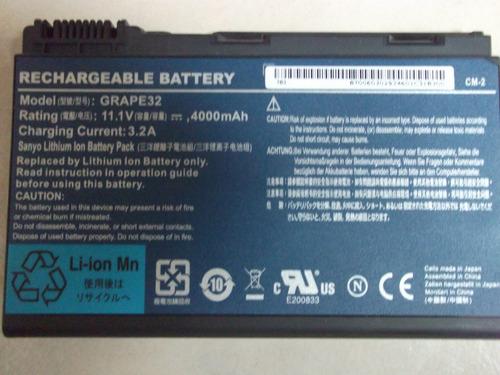 bateria acer extensa 5420/5120series modelo grape32  vbf