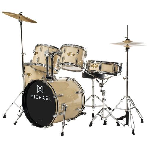 bateria acústica bumbo 20 pol - audition dm 827 na michael