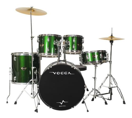 bateria acústica bumbo 22  - talent vpd922 vogga