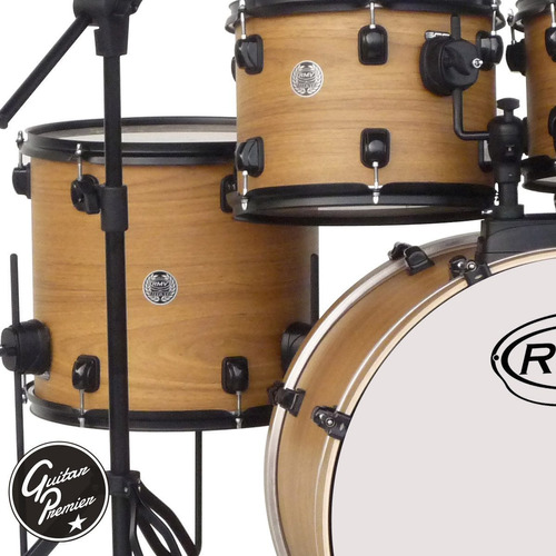bateria acustica rmv road up 5 cuerpos + platos zildjian z4