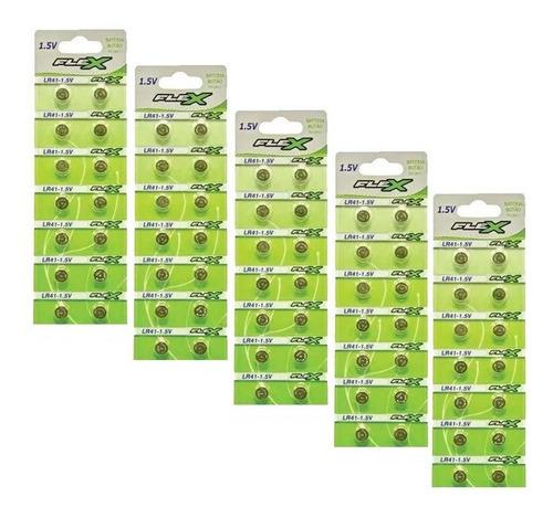 bateria ag3 lr41 lr736 392a pilha 1,5v lote 5 cartelas de 14un totalizando lote de 70 pilhas