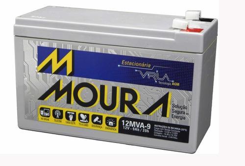 bateria alarme nobreak no-break cerca elétrica cftv 0087