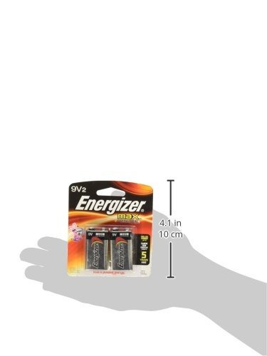 batería alcalina de uso general energizer 9v - alcalina - 9v
