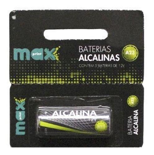 bateria alcalina maxprint a23 1 unidade - 12v