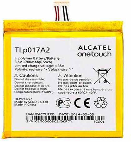 batería alcatel idol mini tlp017a2  /original/