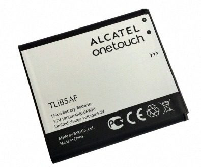 bateria alcatel one touch pop c5 ot997 modelo tlib5af