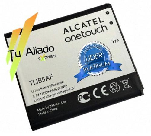 bateria alcatel ot pop c5 tlib5af 5035 5035d 997d 5036 5037