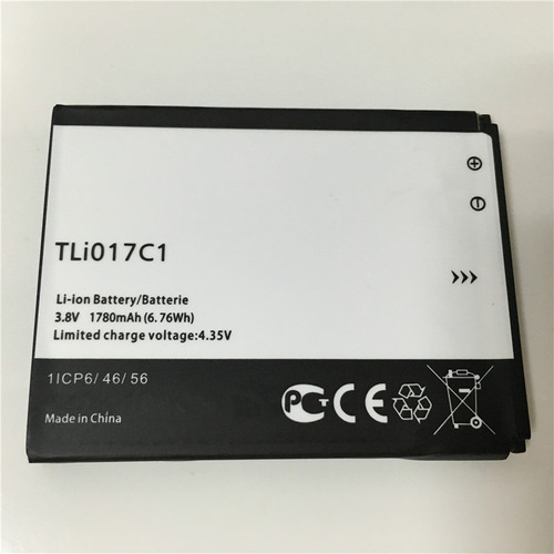 batería alcatel tli017c1 one touch pixi 3 4.5 5 1780 mah