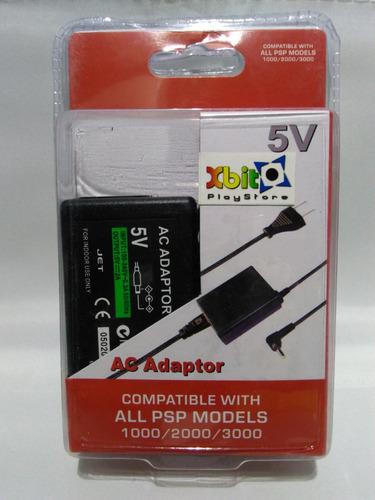 batería alternativa + cargador psp series 1000 2000, 3000