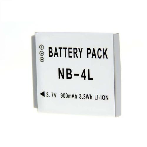 bateria alternativa nb4l nb4lh 900mah canon ixus. elph100hs