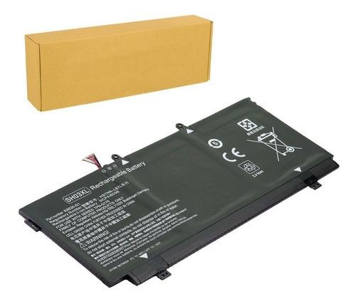 bateria alternativa sh03xl p/ hp spectre x360