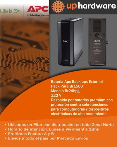 bateria apc back-ups external pack br24bpg para br1500