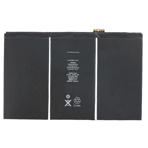 batería apple ipad 3 y 4 tercera - cuarta generación en stoc