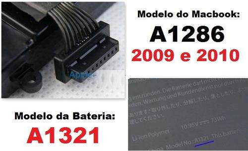 bateria apple macbook pro 15  a1321 a1286 020-6766-b 661-521