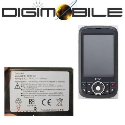 bateria arte160 htc p3300 3350 qtek g200 htc love artemis