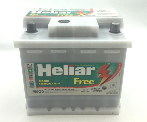 bateria auto 12x50 heliar f50gd 1 año de gtia. nueva oferta