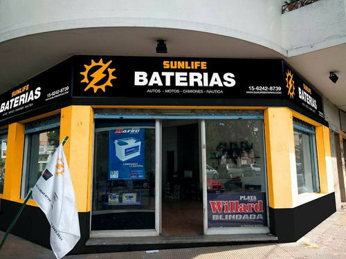 bateria auto 12x75 amp reforzada 75 amp colocación gratis