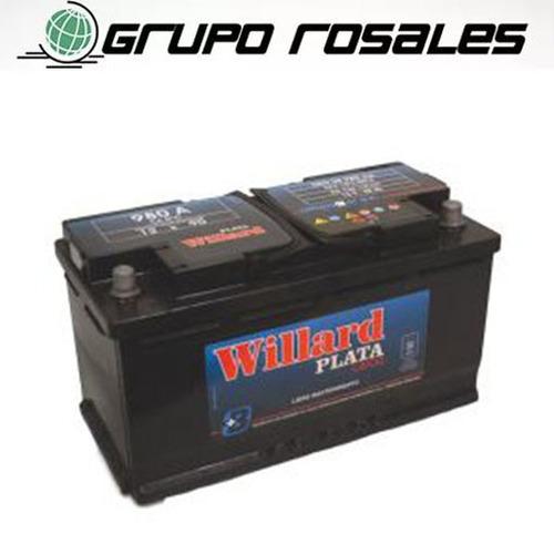 bateria auto willard ub980 12x90 mercedes benz viano 230