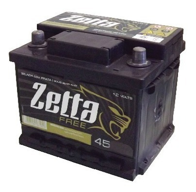 bateria auto zetta z45d 12x45 12v ecosport fiesta ka clio