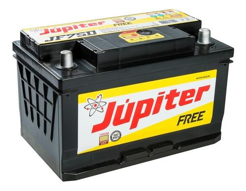 bateria automotiva júpiter 75ah 12v selada com prata