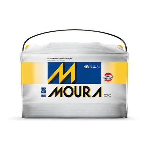 bateria automotiva m75lx 75ah mercedes-benz - moura