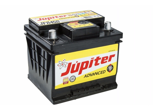 bateria automotiva selada júpiter 45ah corolla megane gol