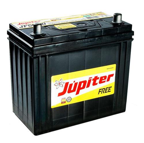 bateria automotiva selada jupiter 50ah 12v h.civic com prata