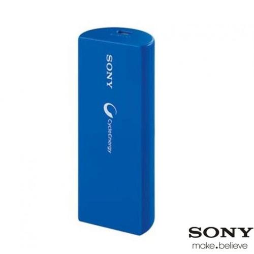 bateria auxiliar externa sony 2800 mah azul