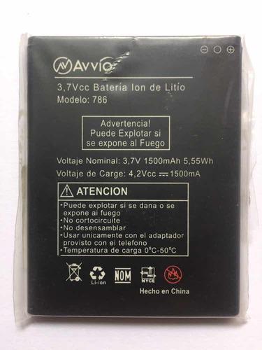 batería avvio 786 tipo original