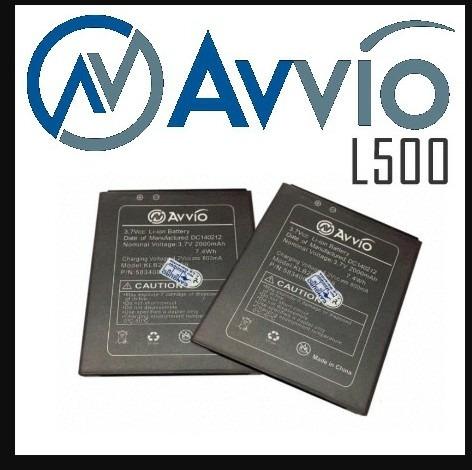 batería avvio l500
