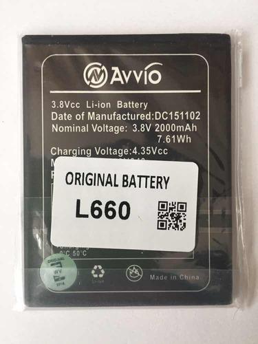 batería avvio l660 tipo original