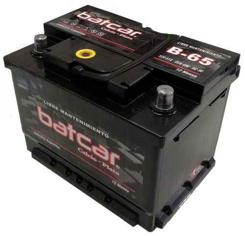 bateria batcar auto 12x65 mitsubishi colt eclipse lancer