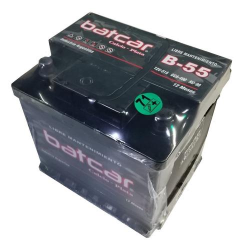bateria batcar auto b-55 fiat bravo idea linea palio punto