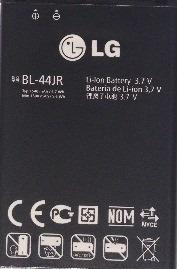 bateria bl-44jh celular lg optimus l7 p705 p750 p700 e450