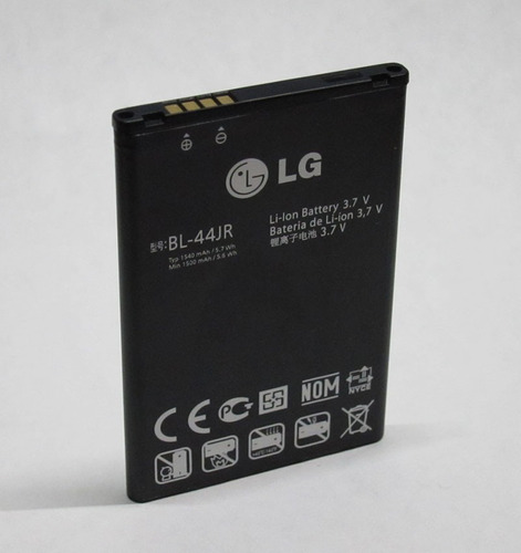 bateria bl-44jr para lg prada p940 y lg prada k2 1540mah