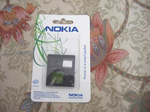 bateria bl 6f original nokia n95 8gb n78 n95 1200mah pedido