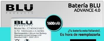 bateria blu advance 4.0 a 270 gener .c745043160t