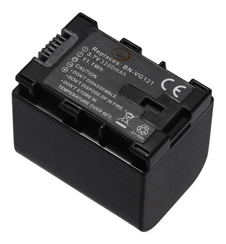 batería bn-vg121 bn-vg138 jvc everio gz-e10 e200 e300 ex210