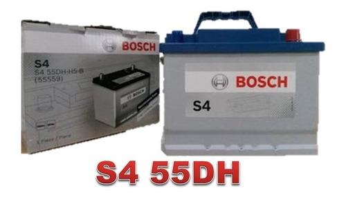 bateria bosch s4 55dh 11 placas para toyota tercel y mas