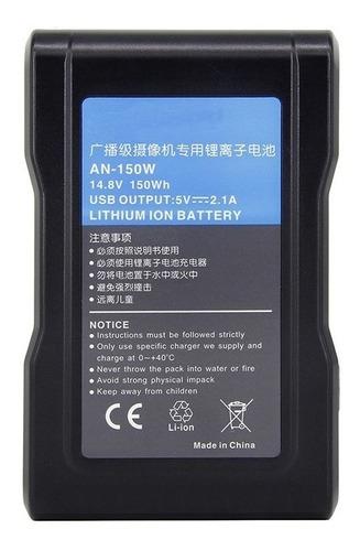 bateria broadcast 150w encaixes gold mount e v-mount